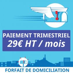 3 mois de Domiciliation Marseille 7