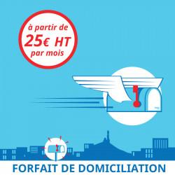 3 mois de Domiciliation Marseille 7 - Domiciliation d'entreprises à Marseille 7ème