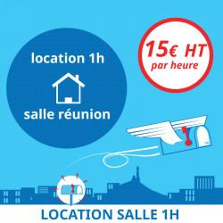 1 Heure de location de notre salle de réunion - Domiciliation d'entreprises à Marseille 7ème