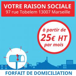 6 mois de Domiciliation Marseille 7 - Domiciliation d'entreprises à Marseille 7ème