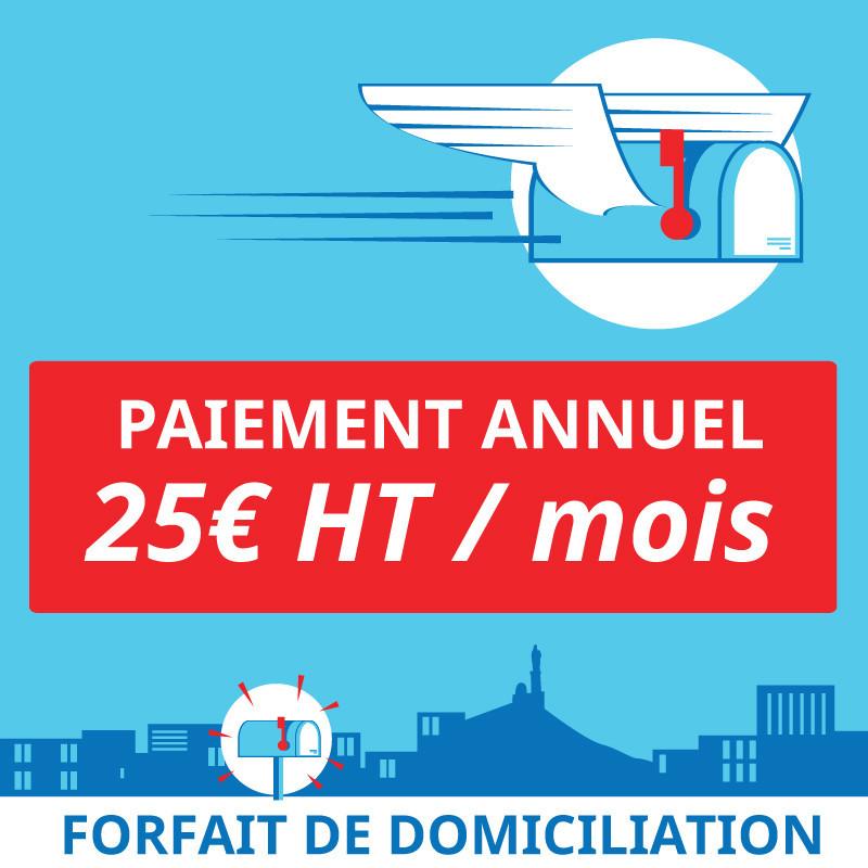 1 an de Domiciliation Marseille 7 - Domiciliation d'entreprises à Marseille 7ème